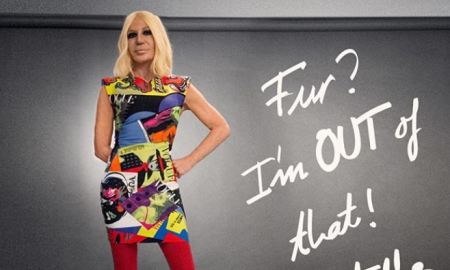 Fashion with a Conscience Donatella Announces Versace will goFur Free