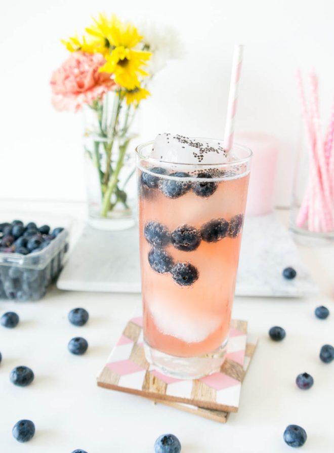 21 Mocktail Recipes for Your Memorial Day Bash sparkling chia kombucha mocktail