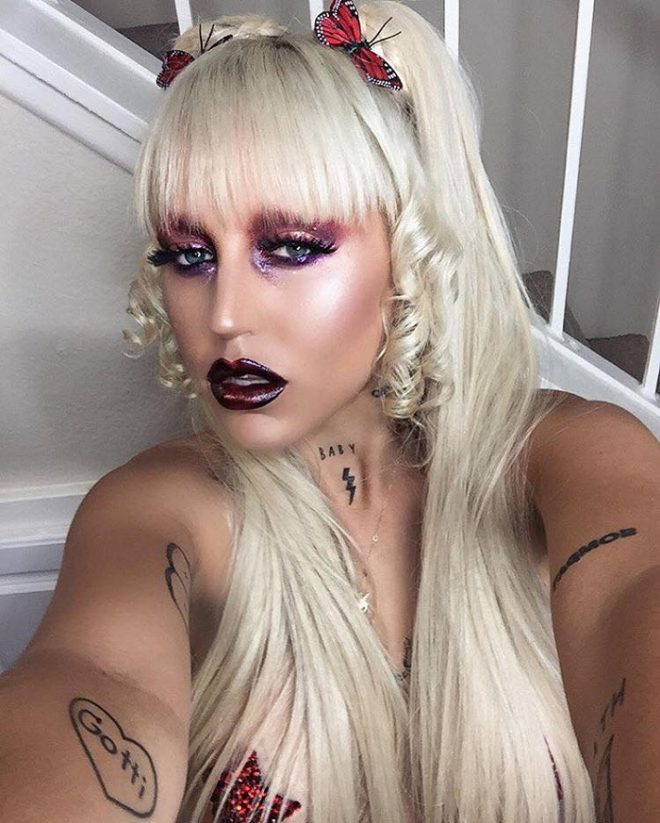 45 of Michael Anthony Best Beauty Looks on Instagram dark lips dark eyeshadow