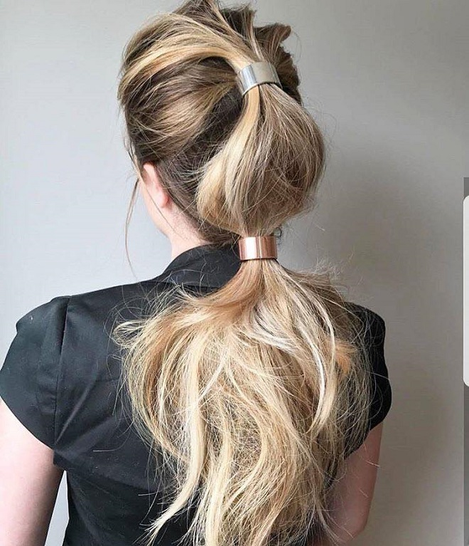 15 Trending Hairstyles For Summer 2018 Metal Accessories Viva Glam
