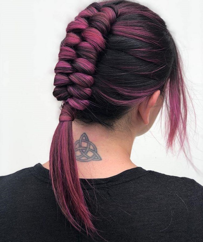 15 Trending Hairstyles for Summer 2018 infinity braid