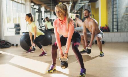 exercise, kettlebell, lighting weights