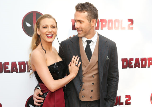 Blake Lively Stuns In a Look Inspired by 'Deadpool'