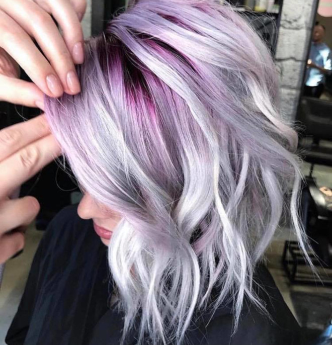 cool toned hair colors for summer 9