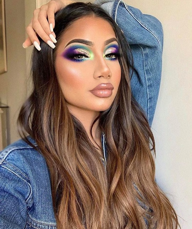 cool toned makeup looks for summer 4
