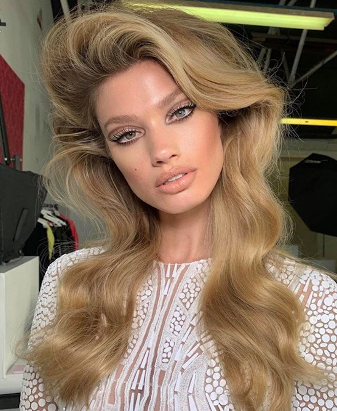 sexy side part hairstyles for a glamorous look 3