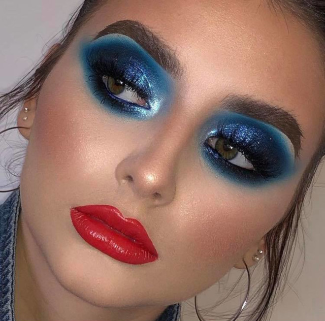 4th of july makeup looks 2