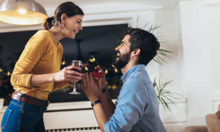 how-much-is-an-engagement-ring-in-australia-happy-couple-man-proposing-to-woman