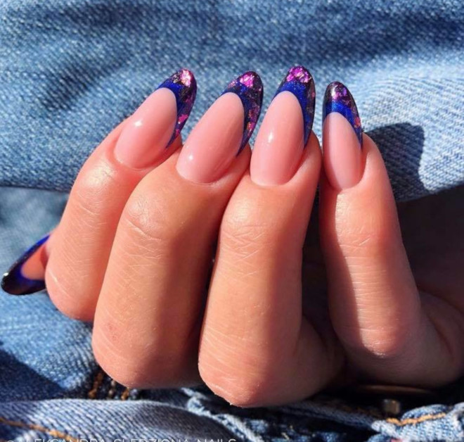 modern french manicure nails to try this summer 9