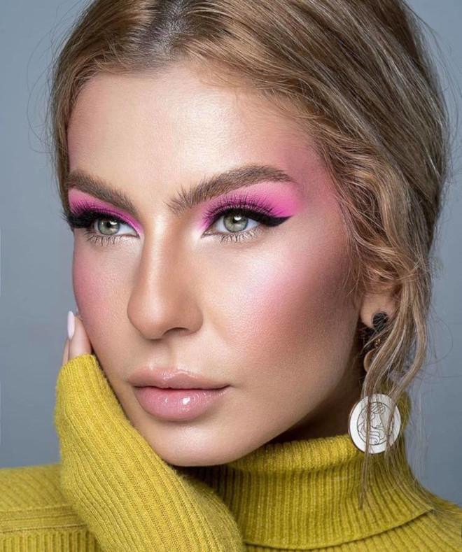 pink eyeshadow trend 3