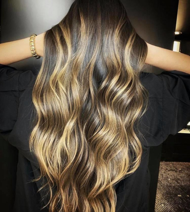 smoky gold hair colors 8