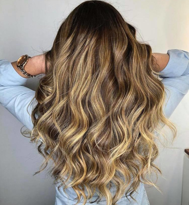 smoky gold hair colors for summer 1