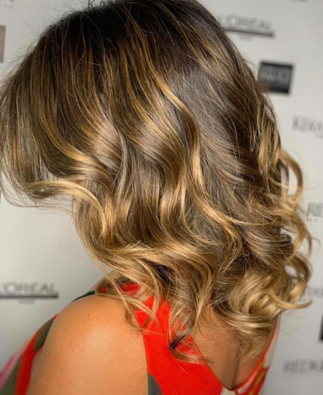 smoky gold hair colors for summer 3