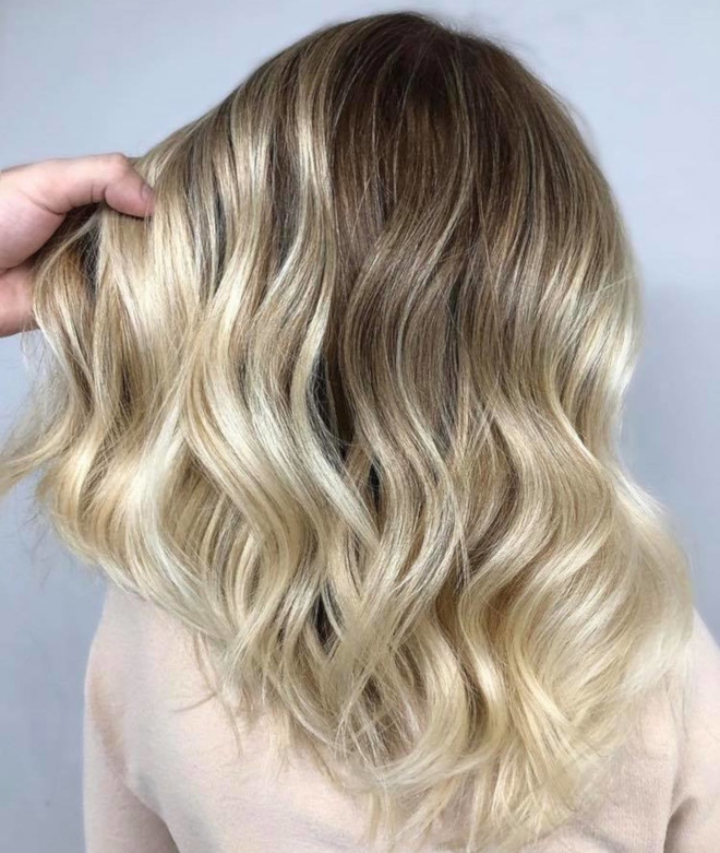smoky gold hair colors for summer 7