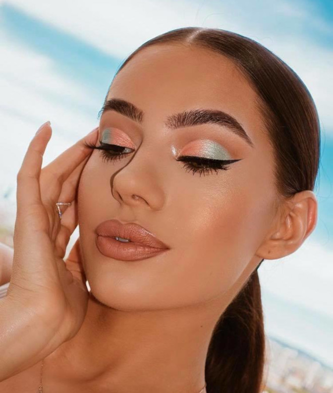 fresh makeup looks for summer glow up 5