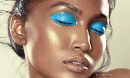 Glossy Lids Makeup Trend