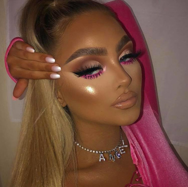 how to turn yourself into a bombshell with neon makeup 2