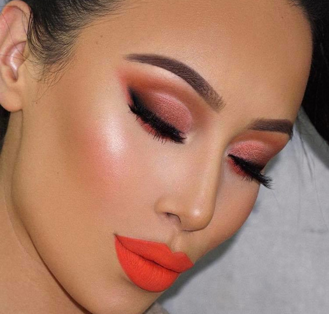 how to turn yourself into a bombshell with neon makeup 9