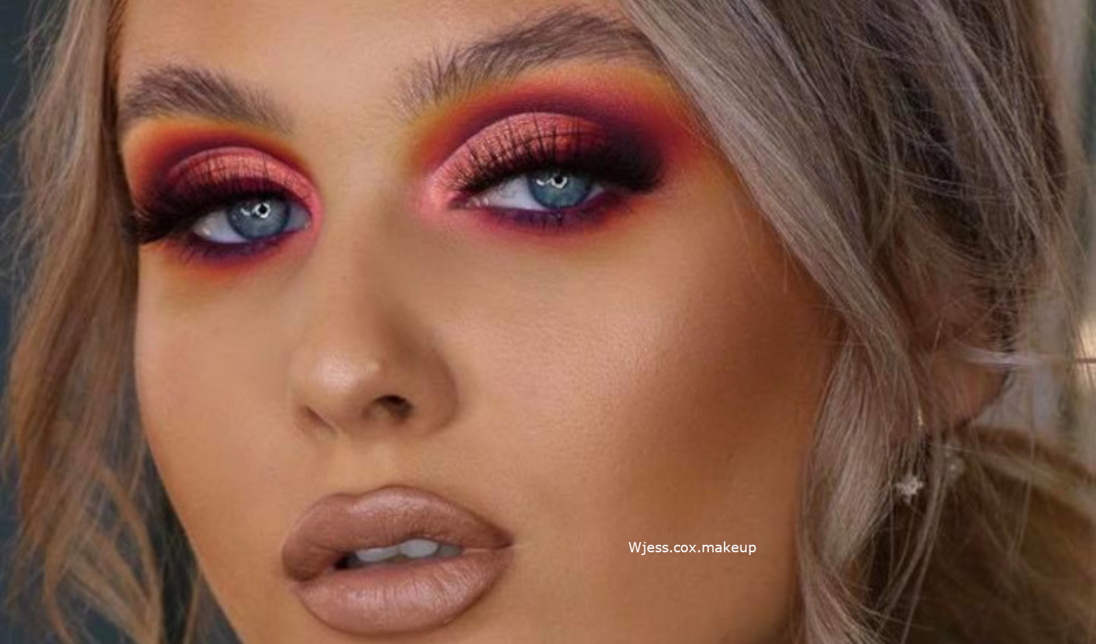 Sunset Eyeshadow Makeup Looks For Summer