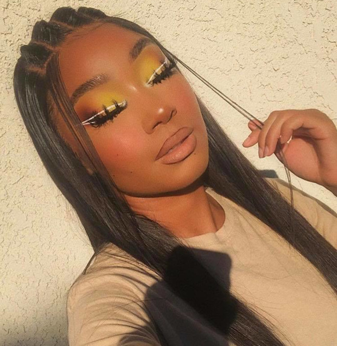 sunset eyeshadow makeup looks for summer 4
