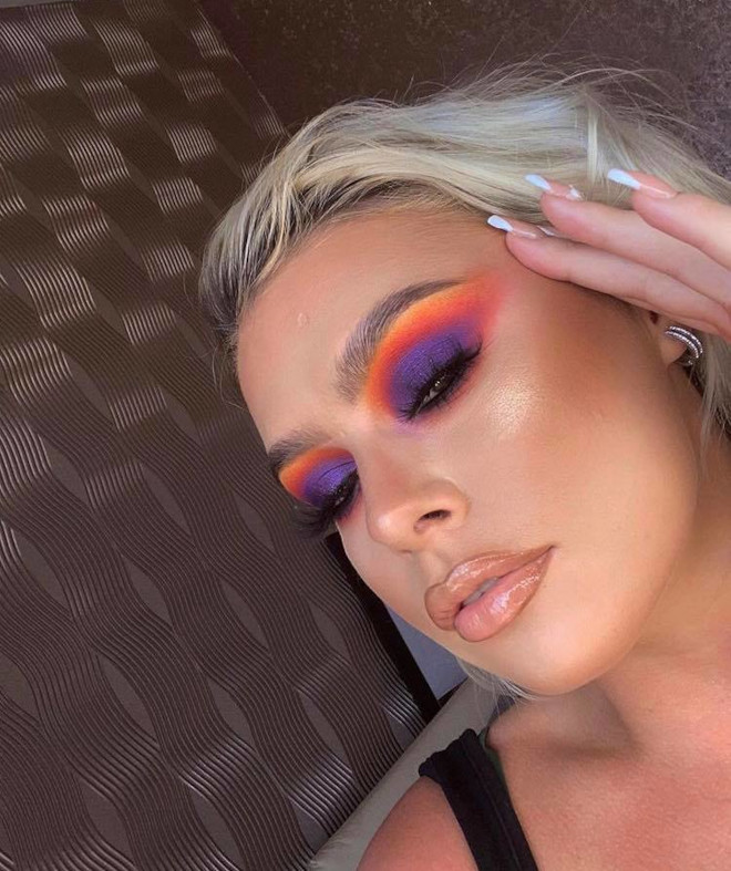 sunset eyeshadow makeup looks for summer 8