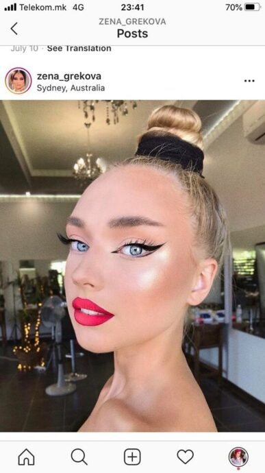 ways to pull off coral lipstick 9