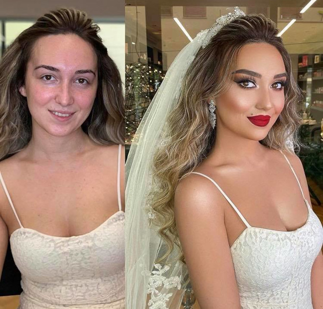 bridal beauty transformations 5
