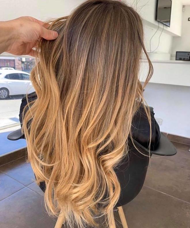 caramel hair 7