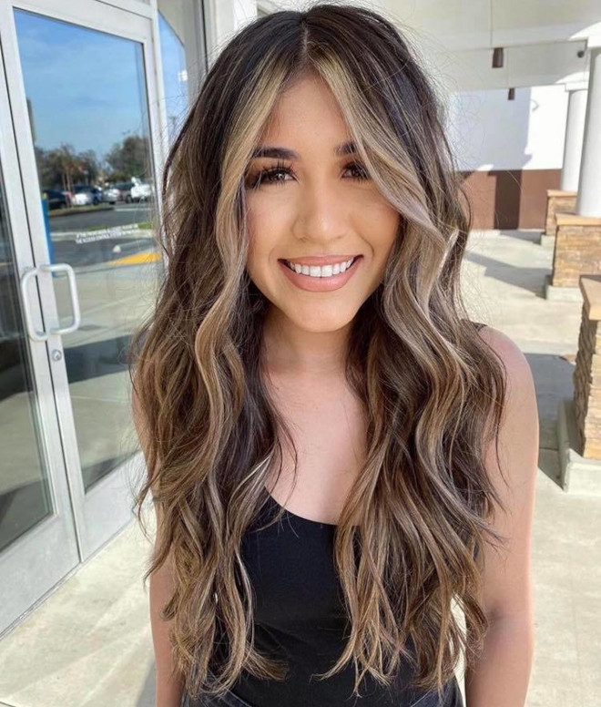 chocolate almond hair color trend 3