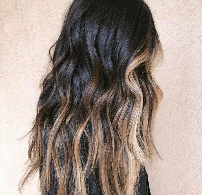 chocolate almond hair color trend 4