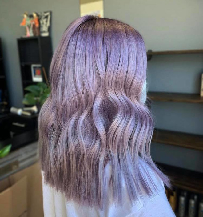cool toned hair color ideas for fall 3