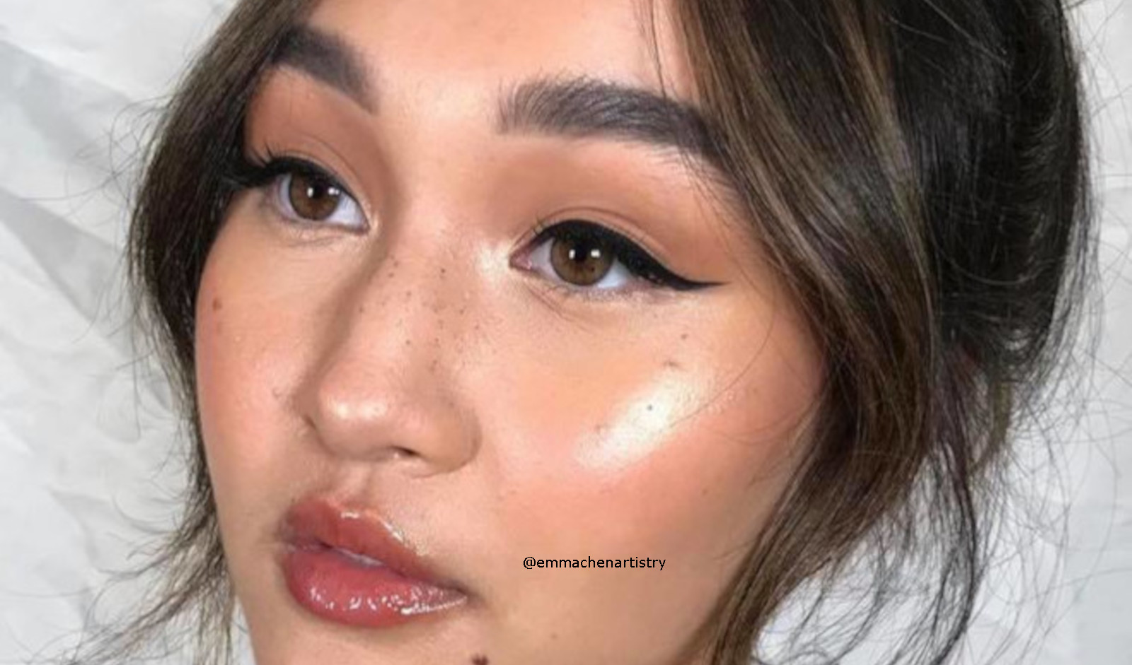 Dolphin Skin Makeup Trend