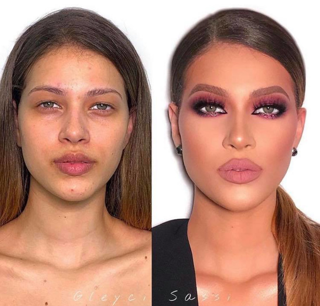 mind-blowing beauty transformations that show the massive power of makeup 4