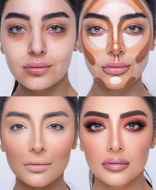 mind-blowing beauty transformations that show the massive power of makeup 6