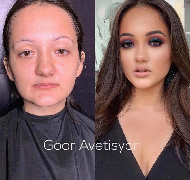 mind-blowing beauty transformations that show the massive power of makeup 9