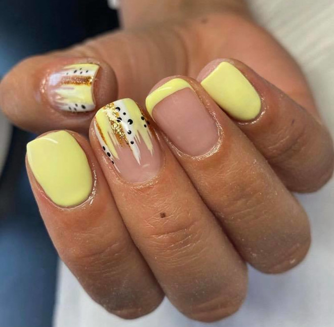 modern french manicure ideas 2
