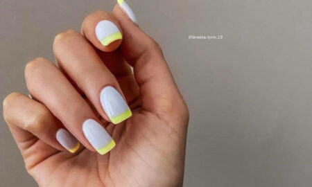 Modern French Manicure Ideas For Fall