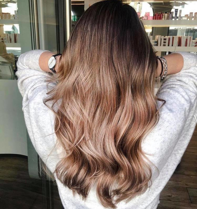 dirty brunette hair color trend for fall 7