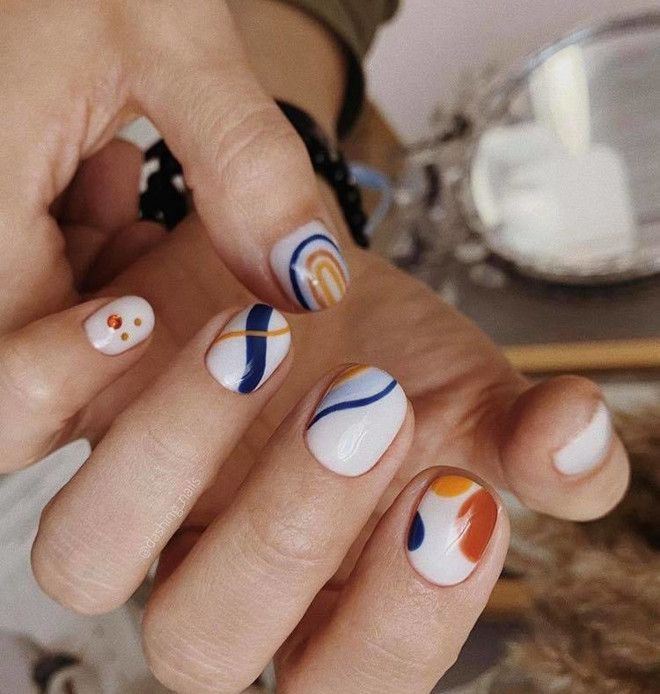 easy fall nail designs to recreate at home 4