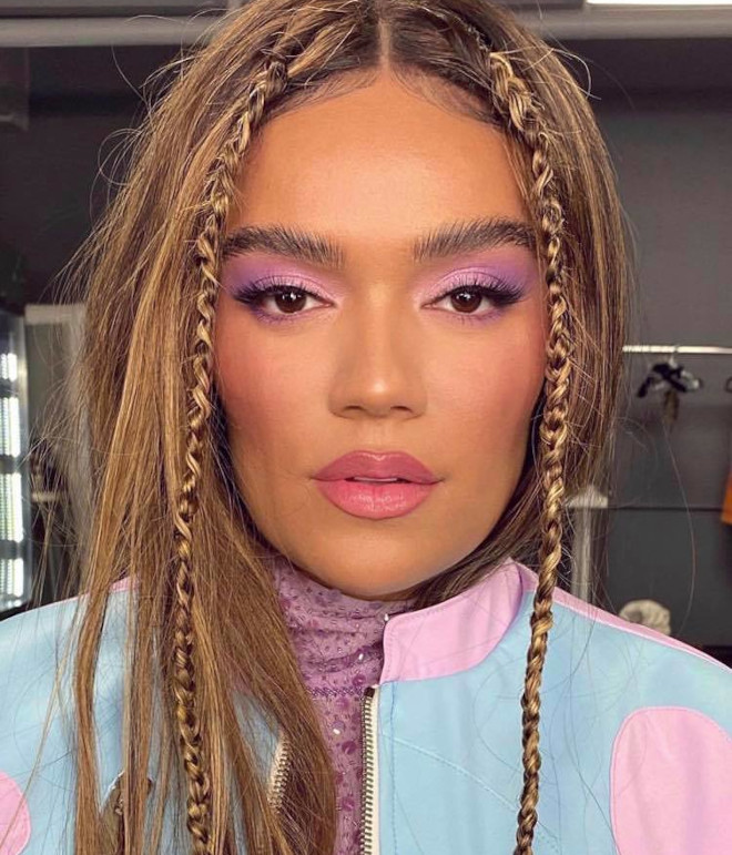 fall makeup ideas to steal from celebrities 3