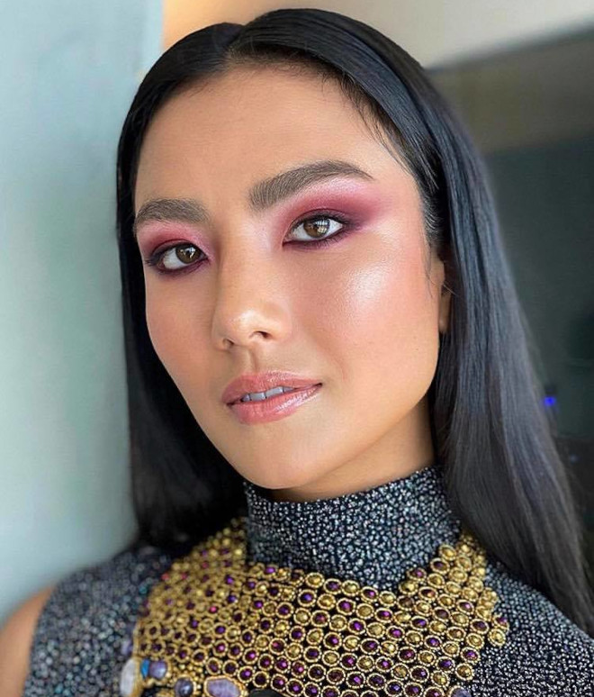 fall makeup ideas to steal from celebrities 6