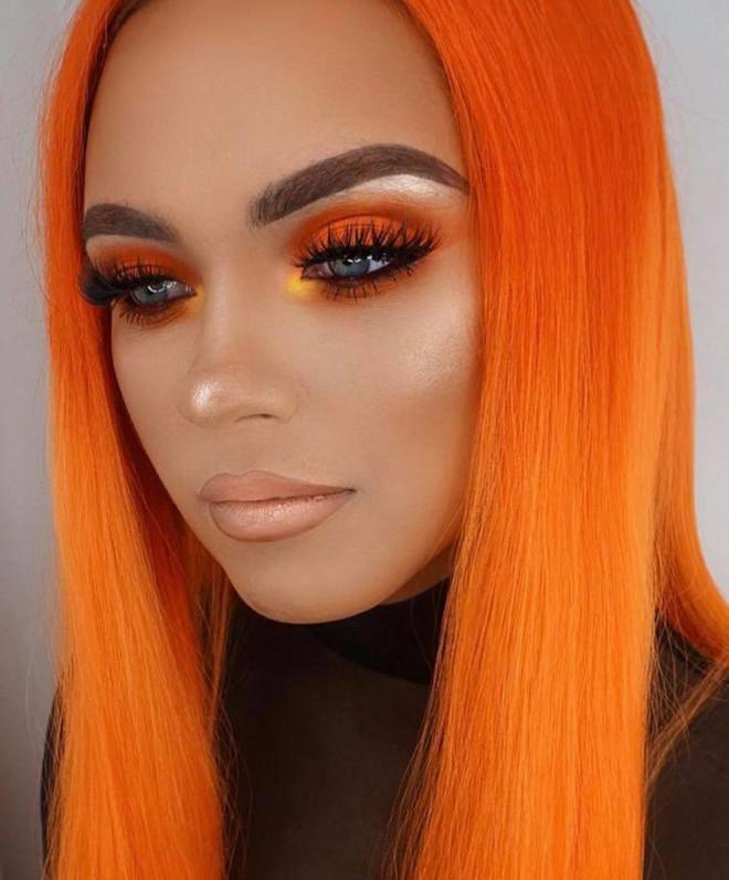 fall orange makeup looks to match your pumpkin spice latte 6
