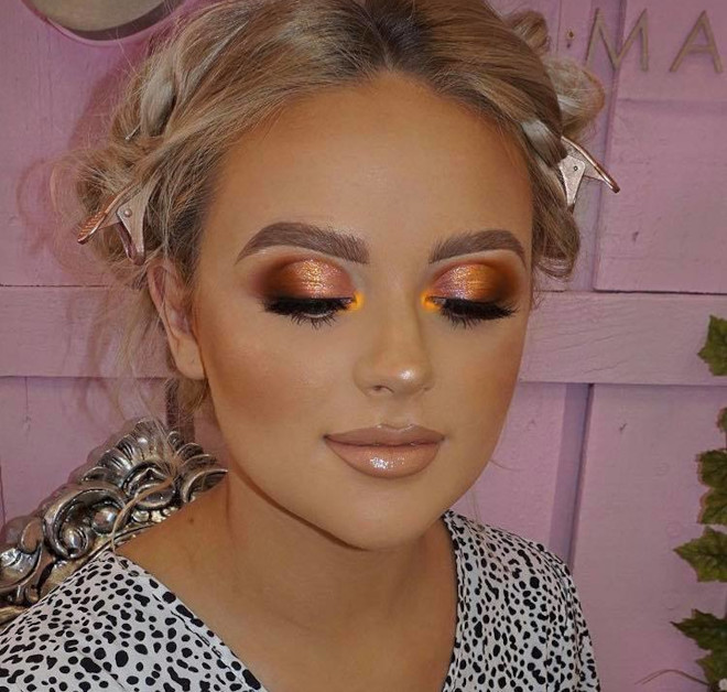 fall orange makeup looks to match your pumpkin spice latte 7