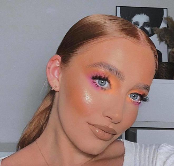 fall pastel makeup looks 2