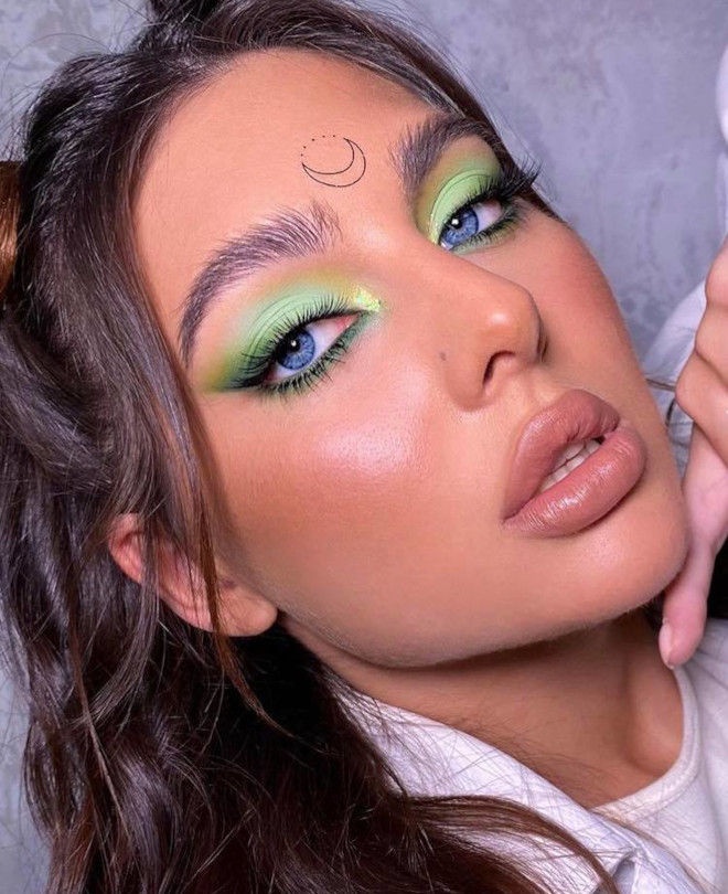 fall pastel makeup looks 6
