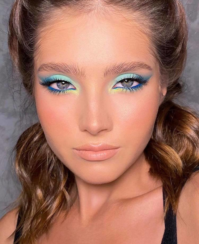 fall pastel makeup looks 7