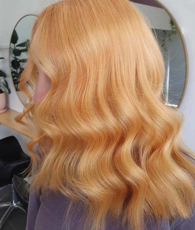 gingerbread caramel hair color is the comeback trend for fall 3