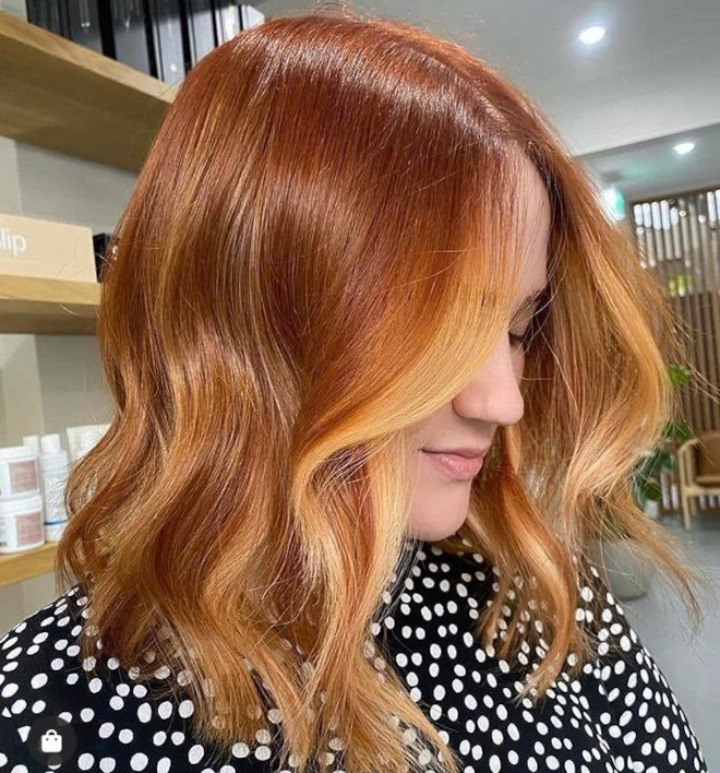 gingerbread caramel hair color is the comeback trend for fall 4