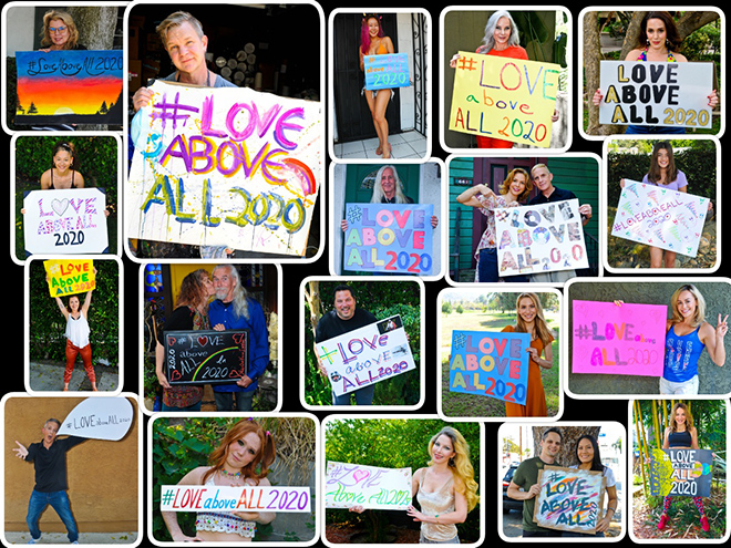 #loveaboveall2020-collage