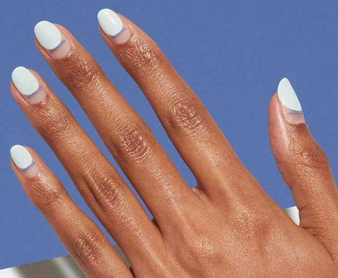 short french manicure ideas for fall 4